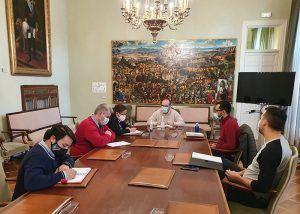 Constituida la Mesa del Transporte de la Diputación de Guadalajara