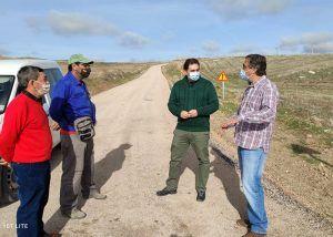 El acondicionamiento del camino desde Huete a Mazarulleque ya es una realidad