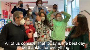 """El CEIP Santa Ana de Cuenca celebra el Día de Acción de Gracias porque """"a pesar de las dificultades hay que dar las gracias todos los días"""""""