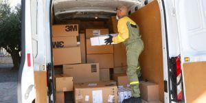 El Gobierno de Castilla-La Mancha ha distribuido esta semana más de 433.000 artículos de protección a los centros sanitarios