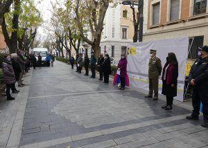 El Gobierno de España recuerda en Guadalajara a las víctimas de la violencia de género y expresa su compromiso con la igualdad