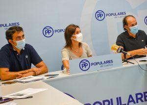 El PP en el Ayuntamiento de Cuenca lamentan que Dolz e Isidoro digan 'no' a la hostelería conquense y a las inversiones en autovías para Cuenca del Gobierno central