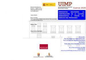 """El SPEC-UCLM organiza el encuentro virtual """"Periodistas militantes la construcción de la cultura democrática a través del ejercicio del periodismo"""""""