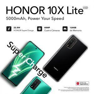 HONOR presenta el nuevo HONOR 10X Lite, con increíbles funcionalidades por tan solo 229,9 euros