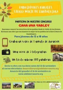 I Concurso de Arte Embajadores Rurales de la Sierra Norte Guadalajara