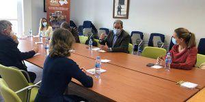 Jornada de trabajo en ADEL para avanzar en la futura recepción de fondos especiales de reconstrucción