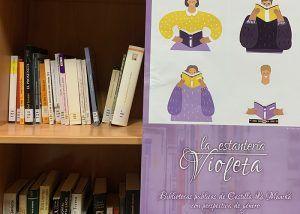 La Biblioteca de Albalate anima a los lectores y lectoras a conocer su 'Estantería violeta'