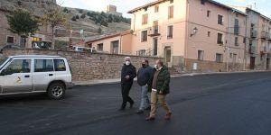 La Diputación de Guadalajara ejecuta mejoras en varias calles de Molina de Aragón con una inversión de 257.700 euros