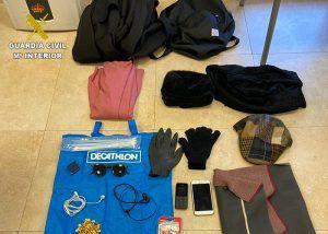 La Guardia Civil detiene a dos personas como supuestos autores de una tentativa de hurto en Tarancón