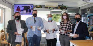 La hostelería de Guadalajara se vuelca con la campaña del 25N,  'Amantes del buen trato', por el Día Internacional contra la violencia machista
