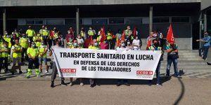 La huelga del Trasporte sanitario entra en su séptima semana y vuelve a ser regional