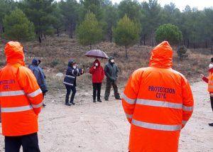La Junta dota de una bomba eléctrica para inundaciones a las agrupaciones de Protección Civil de Las Valeras, Cañizares y Cañete
