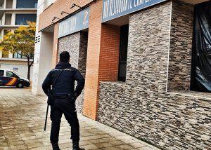La Policía Nacional detiene a los autores de un robo con fuerza en un bar de Guadalajara