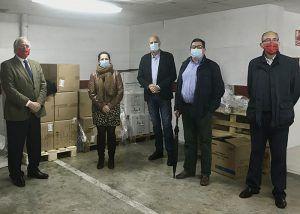La Subdelegación del Gobierno en Cuenca comienza el reparto de 56.000 mascarillas