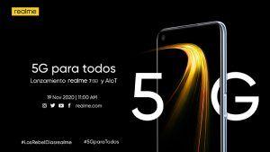 Realme anuncia el lanzamiento mundial de realme 7 5G y fantásticas ofertas para el Black Friday