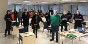 Voluntarios de siete agrupaciones de Protección civil de Guadalajara participan en el curso de formación básica