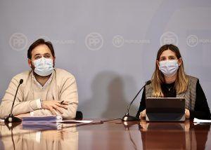 Agudo señala que este duro año ha llevado al PP-CLM a redoblar sus esfuerzos y a estar en mayor contacto con la sociedad civil castellano-manchega
