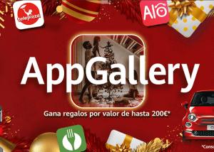 AppGallery acerca la gastronomía a sus usuarios con premios y descuentos en su campaña de Navidad