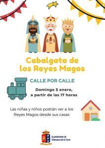 Los Reyes Magos visitarán a las niñas y niños de Villanueva de la Torre calle por calle