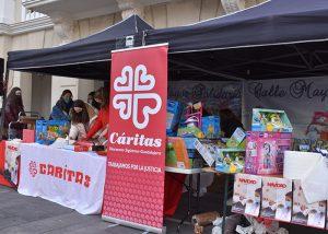 El Ayuntamiento de Guadalajara colabora con 'Calle Mayor Solidaria' y anima a la ciudadanía a participar para que en todos los hogares haya un juguete en Reyes