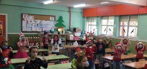 """El CEIP """"San Fernando"""" de Cuenca celebró la llegada de la Navidad con Festinavidad 20 edición especial virtual"""