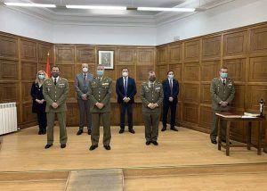 El coronel Fernando Antón Bernalde toma posesión como nuevo subdelegado de Defensa en Cuenca