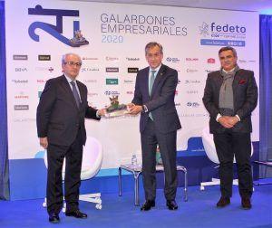 Eurocaja Rural entrega el galardón 'Empresa del Año' a Válquer Laboratorios en los XXIV Galardones Empresariales Fedeto