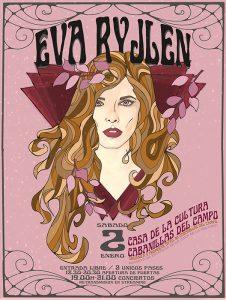 Eva Ryjlen estrena el año y las canciones de su nuevo disco con un doble concierto en Cabanillas