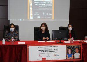 Fernández subraya la necesidad de un modelo educativo inclusivo e igualitario como garantía de una sociedad más fuerte en valores democráticos