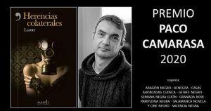 Herencias colaterales, de Lluís Llort, gana la I edición del Premio 'Paco Camarasa' de novela negra