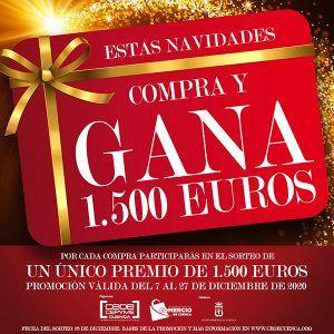 La Asociación de Comercio de Cuenca premiará un año más las compras con su campaña Compra y Gana