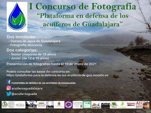 La Plataforma en Defensa de los Acuíferos de Guadalajara organiza su primer concurso fotográfico