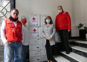 La Subdelegación del Gobierno de Guadalajara distribuye una nueva remesa de 58.000 mascarillas para ayuntamientos y entidades sociales