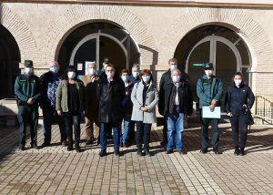 La subdelegada del Gobierno de Guadalajara visita el cuartel de Cifuentes y mantiene un encuentro con alcaldes de la demarcación