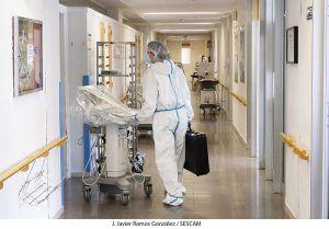 Lunes 21 de diciembre El fin de semana deja cuatro fallecidos en Guadalajara a causa del coronavirus y uno en Cuenca