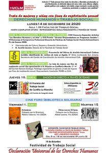 La Facultad de Trabajo Social de Cuenca celebra la Semana de los Derechos Humanos