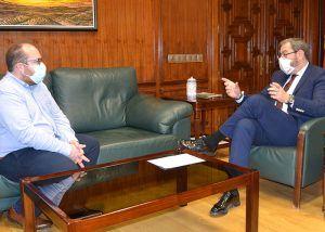 Robles analiza con el alcalde de Torija futuros desarrollos para el municipio a nivel empresarial y de transporte