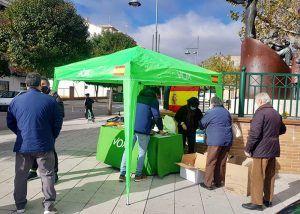 VOX consigue más de 3.000 kilos de alimentos con su iniciativa Guadalajara Solidaria