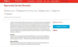 Adecco busca 50 operariosas cárnicos para dos importantes empresas alimentarias en Tarancón