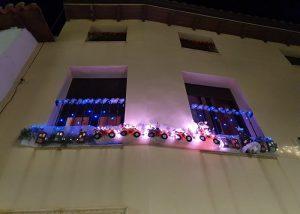 Ana Belén Gómez gana el premio a la mejor fachada navideña de Almonacid de Zorita