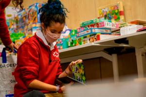Cruz Roja Cuenca Juventud recoge 1.200 juguetes para 400 niños y niñas vulnerables