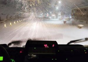 Cuenca y Guadalajara, las provincias más afectadas por el hielo en las carreteras