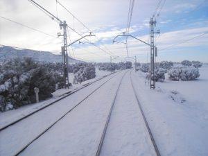ADIF suspende la circulación del tren convencional en la línea de Cuenca y limita el AVE entre Alcalá de Henares y Guadalajara