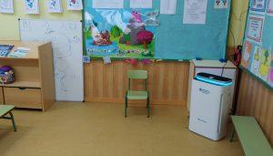 El Ayuntamiento de Brihuega dota de purificadores a los centros de enseñanza públicos