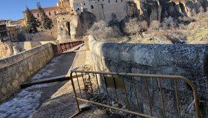El Ayuntamiento de Cuenca inicia las obras de accesibilidad en el Puente de San Pablo