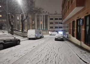 El Ayuntamiento de Guadalajara incorpora siete vehículos más al dispositivo especial contra la nieve y el hielo de ' Filomena'
