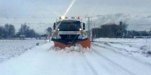 El Ayuntamiento de Guadalajara se ve desbordado por la nieve y solicita ayuda a la Diputación Provincial y a la Junta