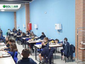 El Colegio Internacional Santo Tomás de Aquino refuerza su protocolo covid con tecnología de Guadalajara