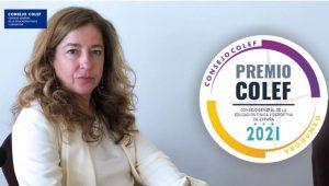 El Consejo General de la Educación Física y Deportiva premia la trayectoria de la profesora Leonor Gallardo