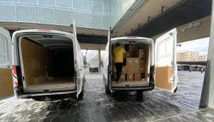 El Gobierno regional ha superado los 39 millones de artículos de protección enviados a los centros sanitarios desde el inicio de la pandemia